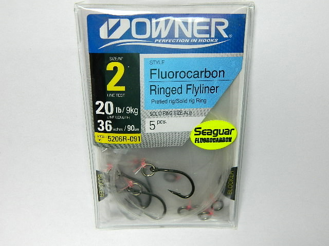 5206R-091 SZ2 FLUOR RINGED FLY
